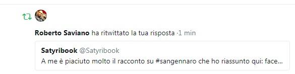 Saviano retwitta satyribook