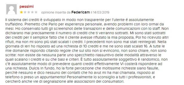 prontopro_utente_protesta_crediti