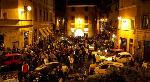 trastevere quartiere movida
