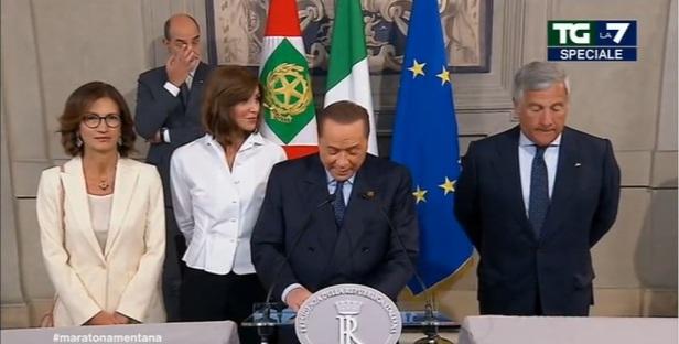 Berlusconi e il tempo che passa consultazioni crisi di governo 2019