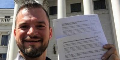kevin-matthews petizione per la liberalizzazione della psilocibina a Denver colorado