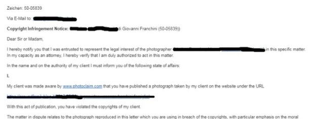 photography defender mail