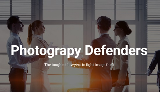 Photography defender copyright email intimidatoria