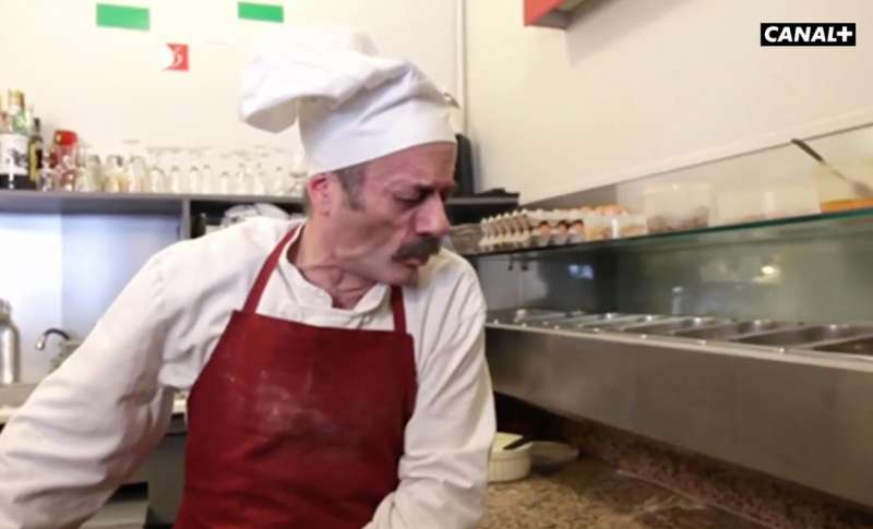 spot francese pizzaiolo satira diffamazione italia