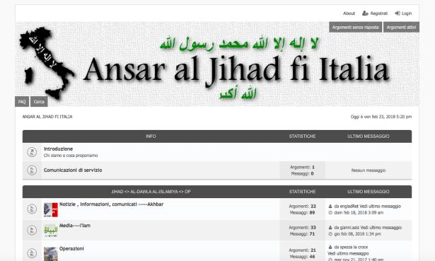 jhiad islamica propaganda via telegram silvia romano