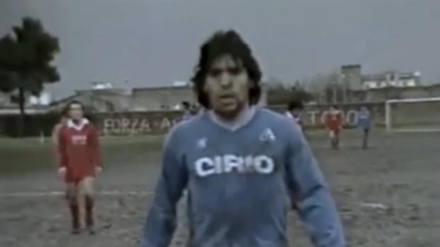 Hai preso un gol da Maradona, non sei contento?
