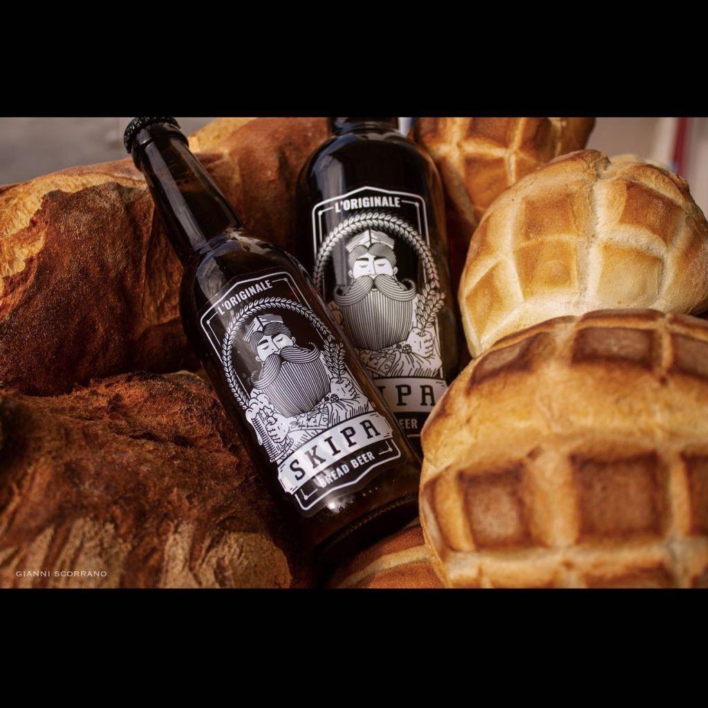 economia circolare birra fatta col pane skipa bread beer lecce